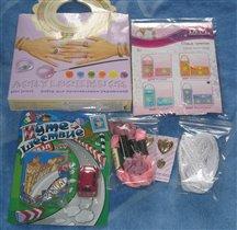 подарки мне и моей ребятне от Ирины- kura :)