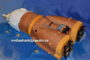 Торт Ракета