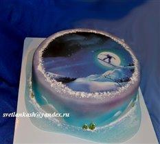 Торт Сноуборд