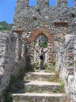 Древние стены, Турция, Аланья