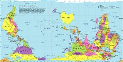 Карта австралийца