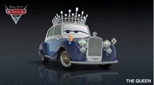 Queen из мультфильма Тачки-2