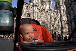Мирошка во Флоренции.