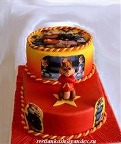 Торт Бурундуки