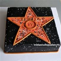 Торт Ксюшина звезда