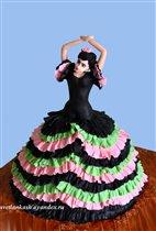 Торт Танцовщица