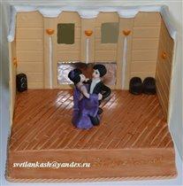 Торт Танцевальный зал.