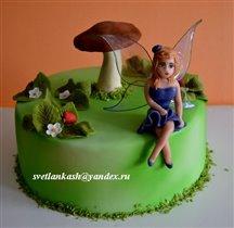 Торт Фея у грибочка