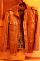 куртка кожаная мужская Т урция