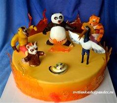 Торт Панда Кунг-фу