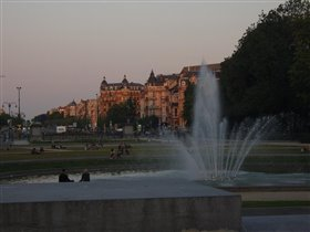 Закат в парке 50-летия
