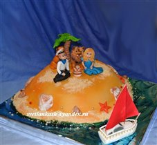 Торт Остров