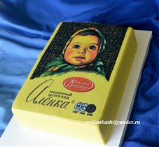 Торт Шоколадка Алёнка