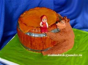 Торт Мишкина бочка мёда
