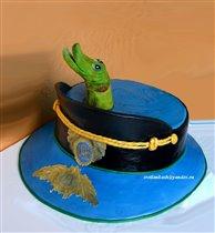 Торт Щука в фуражке