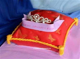 Торт Подушка для диадемы