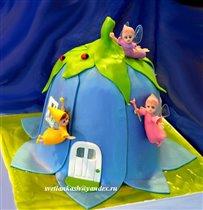 Торт Домик фей