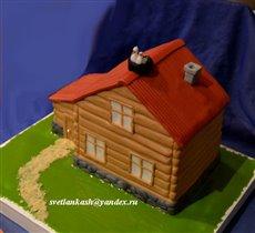 Торт Дом с аистами