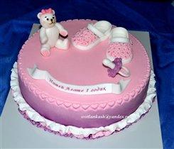 Торт Девочке на годик