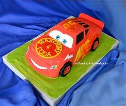 Торт Машинка Молния