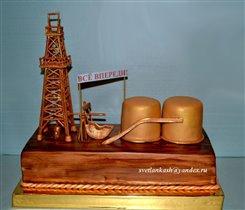 Торт Нефтяная вышка