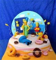 Торт Симпсоны