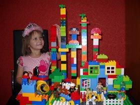 Принцесса и волшебный мир Lego