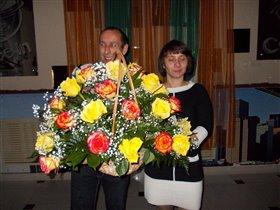 25 лет свадьбы, 2 ребенка и красавец внук..=)