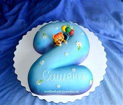 Торт Двоечка