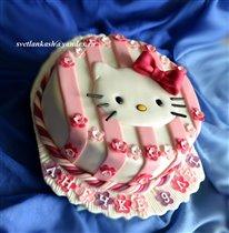 Торт Китти в розовом