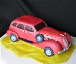 Торт Ретро авто