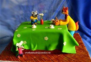 Торт Леопольд и мыши