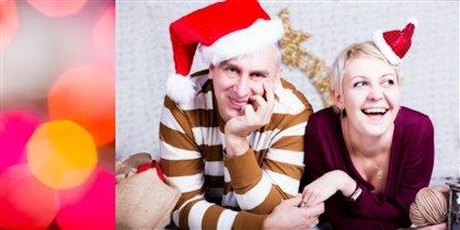 Санта и его помощница :)