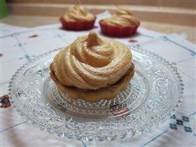 Корзиночка- Лимонный пирог