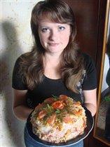 Торт «Наполеон по-украински»
