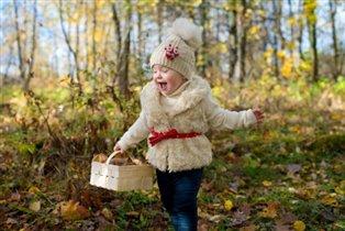 Прогулка в осеннем лесу)