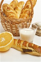 Апельсиново-мятный хлеб к завтраку