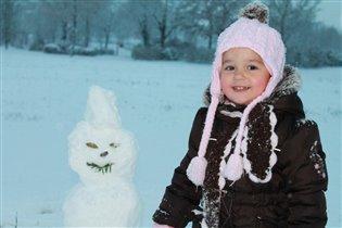 Снежные улыбки=)