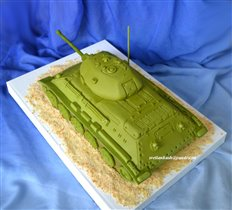Торт Танк Т 34