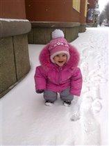 Ах вот какой ты, снег: белый и пушистый!