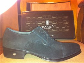 Мужские замшевые ботинки на 42