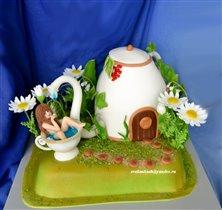 Торт Фея в чашке