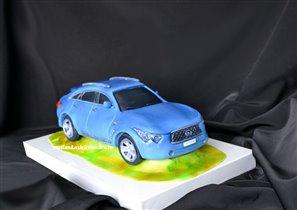 Торт Автомобиль Infiniti FX 50