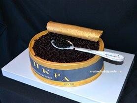Торт Банка чёрной икры