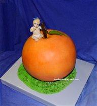Торт Яблоко для Евы