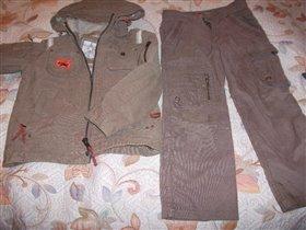 Куртка+брюки Sela вельвет 7-8.