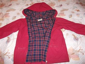Куртка-ветровка глория джинс  на 7-8 лет