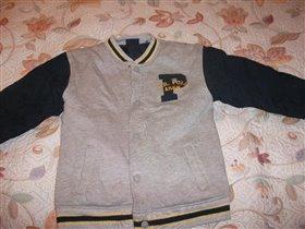 Куртка клубная  на 7-8лет
