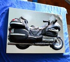 Торт Мотоцикл