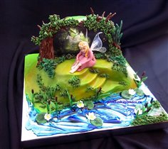 Торт Лесная фея